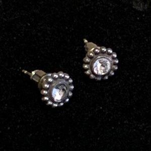 Brighton Twinkle Mini Post Earrings Color- Silver